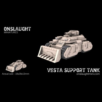 Vesta Support Tanks