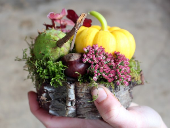 Mini Fall Pumpkin Arrangement