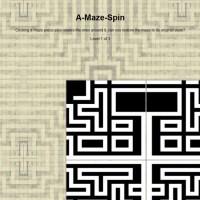 Labyrint A-Maze-Spin