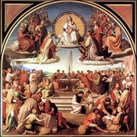 Friedrich Overbeck, Triumph der Religion in den Künsten