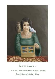 Omslag historische novelle 'Se non è vero'. Klik op het plaatje om te vergroten (bvhh.nu 2008).