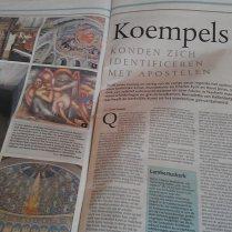 'De genade van de steiger' in De Limburger (4 jan 2014).