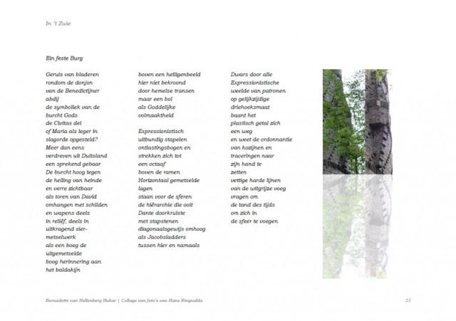 Klik om te vergroten! Mamelis revisited | Gedichtenbundel 'In 't Zuie', Kunst der Vormen, Raar mei 2010, p. 21.
