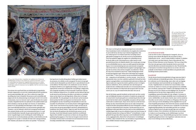Een van de bijzondere kunstenaars in 'De genade van de steiger' betreft de benedictijn François - Jaap - Mes. Screenshot pp. 462-463 bvhh.nu 2014. Klik op het plaatje om te vergroten!