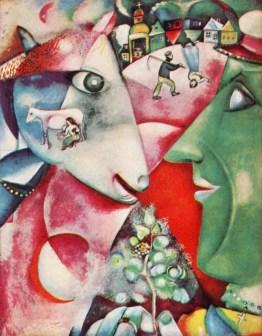 Marc Chagall, Moi et le village.