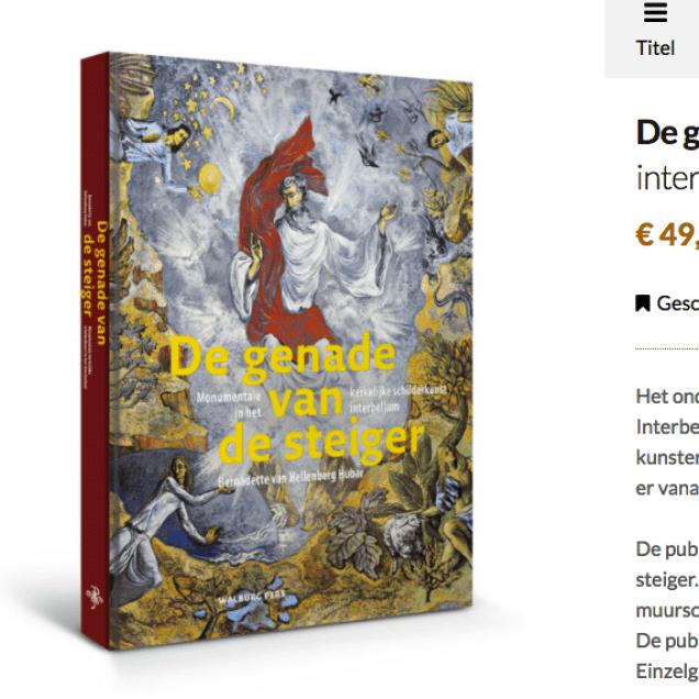 'De genade van de steiger' kan besteld worden bij de Walburg Pers! #GvdSteiger