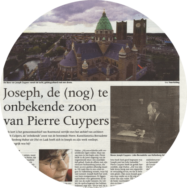 Retroacta | Joseph Cuypers in De Limburger (2016)