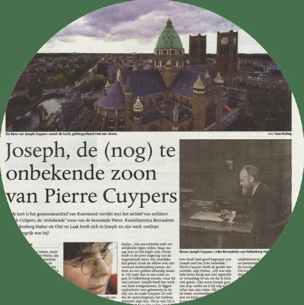 Retroacta | Joseph Cuypers in De Limburger (2016)
