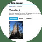 itin Vondelkerk rond