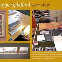 Cuypersplafond Cuypershuis   Lezing SRAL over de kleuren van Cuypers