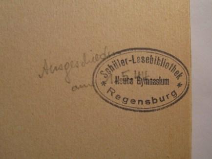 """Provenance marks in """"Von nordischen Frauen, Königen und Baueren""""."""