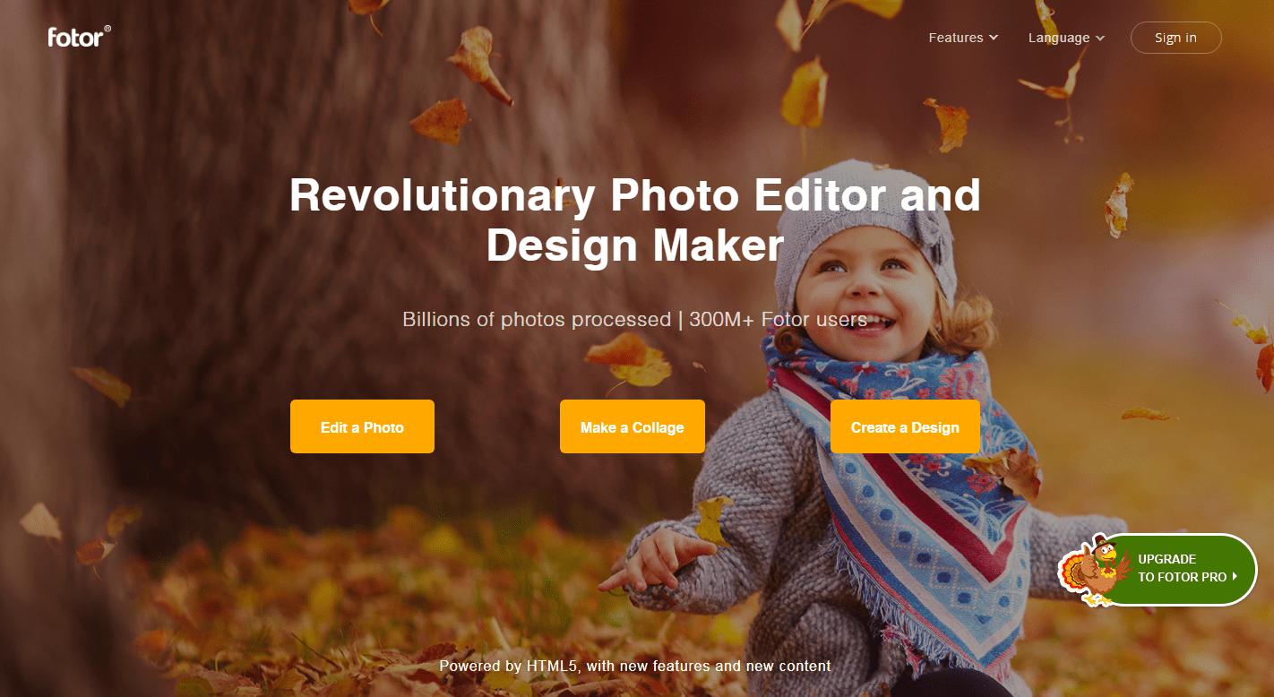 fotor review - photo editor social media