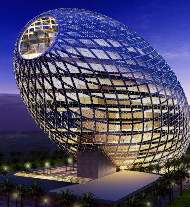 Mumbai's Cybertecture Egg