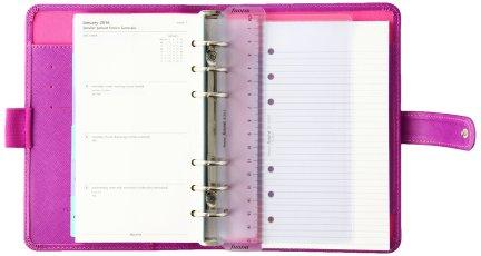 filofax saffiano agenda