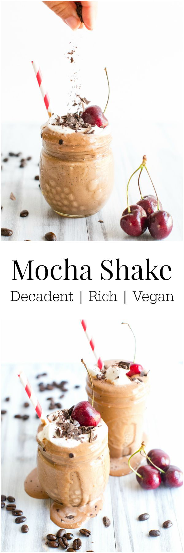 Mocha Shake #Vegan | Vanilla And Bean