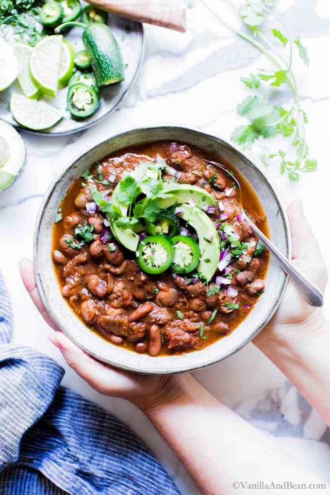 Healthy Crock Pot Chili
