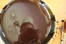 Chocolate, Hazelnut and Strawberry Entremet (8)