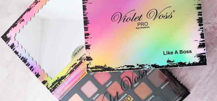 Zoom sur… La palette Like a Boss de Violet Voss