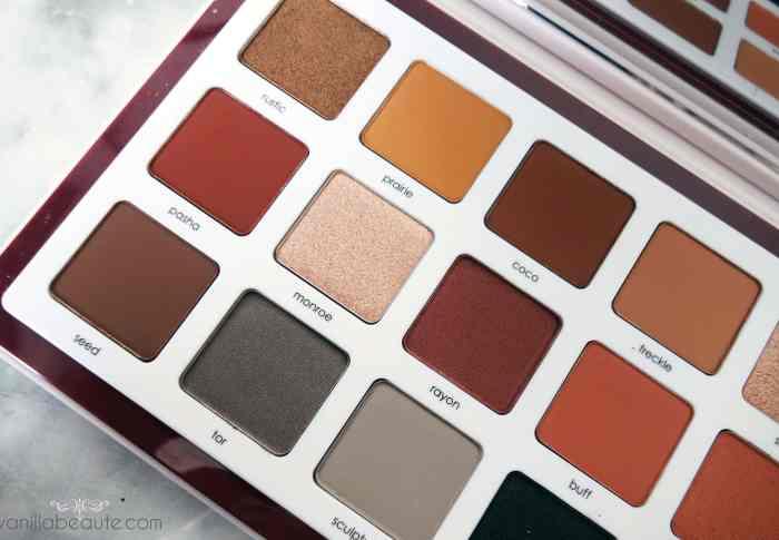Zoom sur… La palette Biba -Natasha Denona