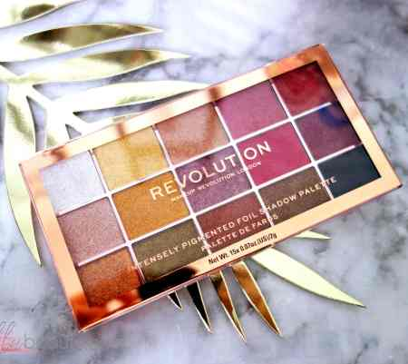 Zoom sur … La palette Foil Frenzy de Revolution Beauty