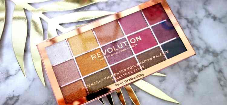 Zoom sur … La palette Foil Frenzy de Revolution Beauty