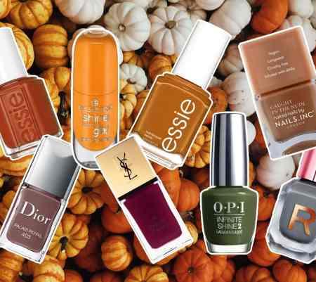 8 vernis à ongles pour l'automne