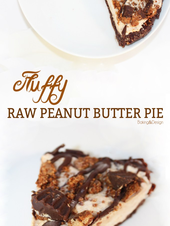 Fluffy Raw Peanut Butter Pie