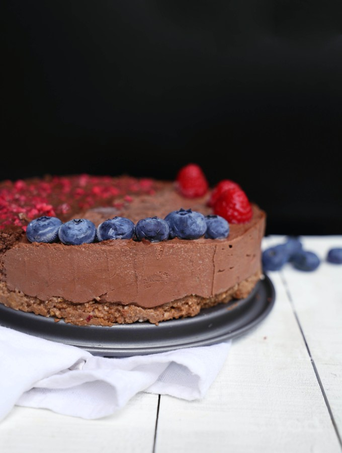 The best vegan Nutella Cake