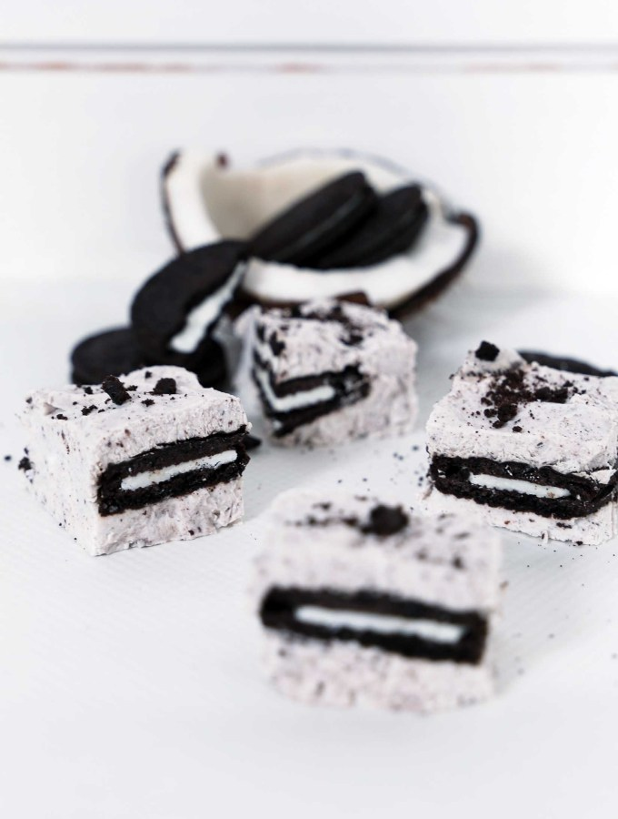 Vegan Oreo Fudges