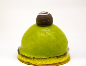 Green Tea Mango Mousse