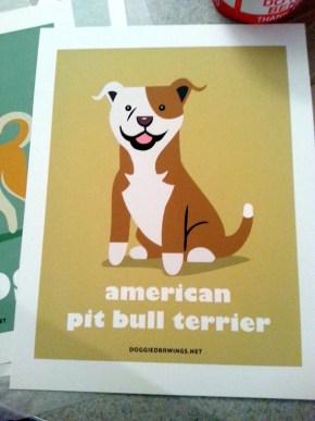 Personalised Dog Print by Lili Chin