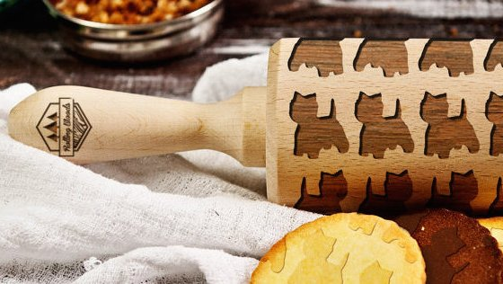 Perfect Gifts for Westie Lovers - Westie Rolling Pin   Vanillapup