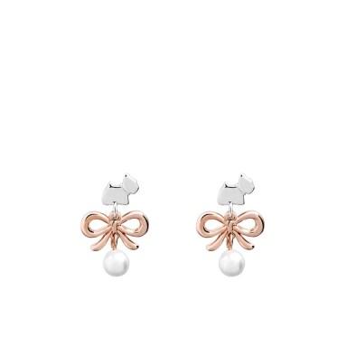 Agatha Lady Bow Scottie Ear Rings