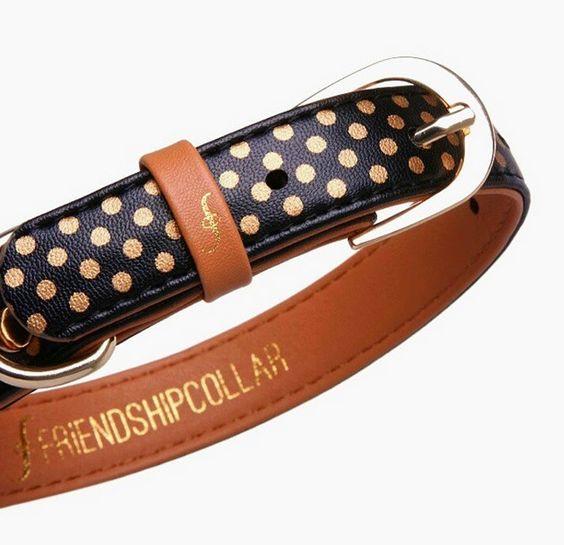 Friendship Polka Dot Collar and Bracelet