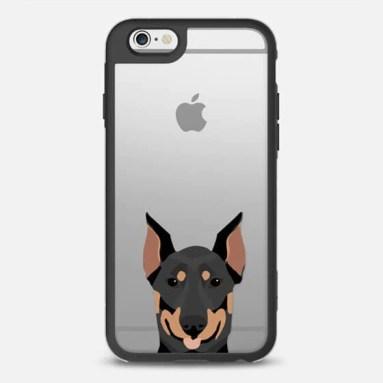 Doberman Pinscher Phone Case | Vanillapup