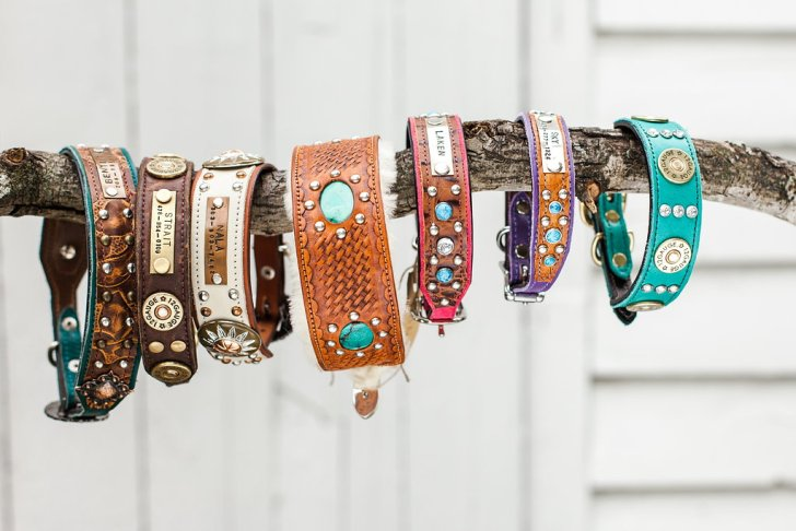 Wild Hound Outfitters Dog Leather Collars   Vanillapup