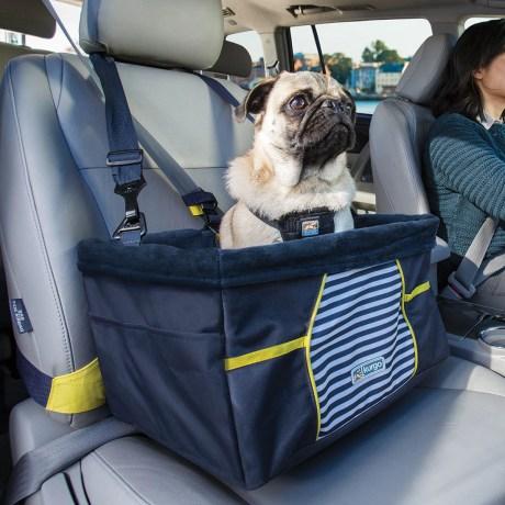 Kurgo Rover Booster Seat Nantucket   Vanillapup