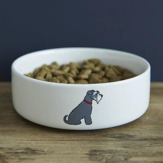 Sweet William London Schnauzer Dog Bowl