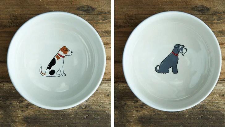 Sweet William London Breed Design Dog Bowl | Vanillapup