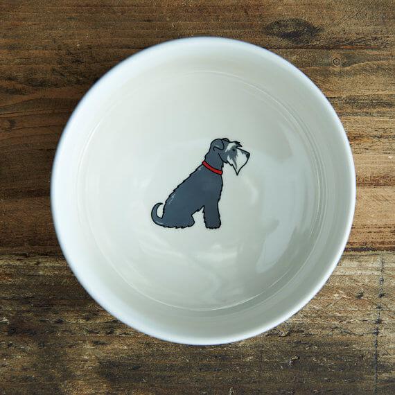 Sweet William London Breed Design Dog Bowl