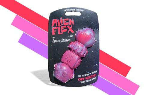 Alien Flex Active Rubber Toy - Space Station