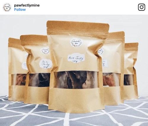 Pawfectly Mine Dog Treats   Vanillapup
