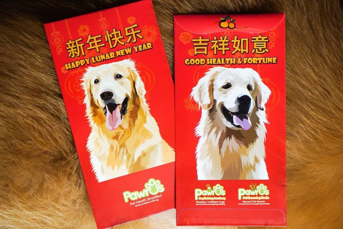 Pawrus Dog Red Packet | Vanillapup