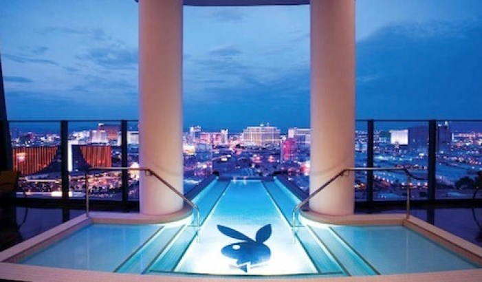 THE PLAYBOY SUITE AT THE PALMS