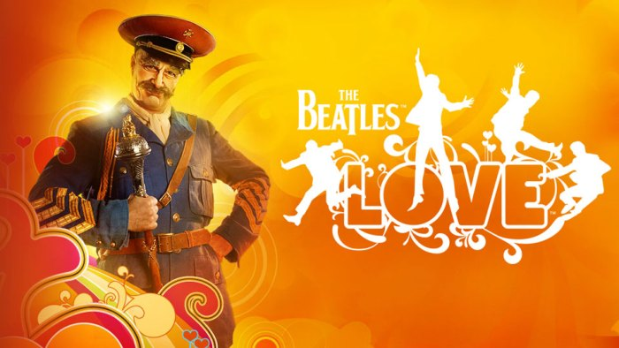 Best Cirque Du Soleil LOVE the beatles