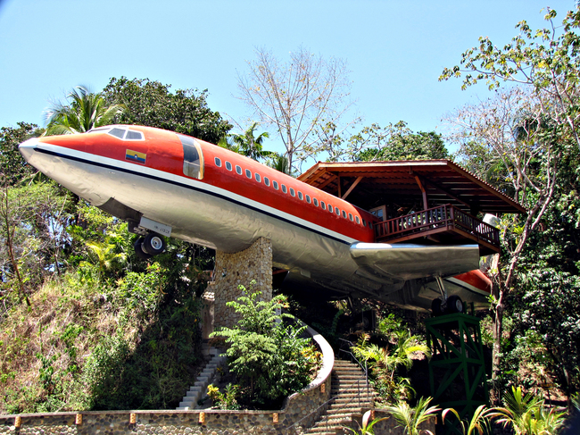 Hotel Costa Verde 727 Fuselage (Costa Rica) Unique & Unusual Hotels