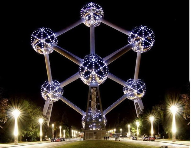 The Atomium (Brussels, Belgium)