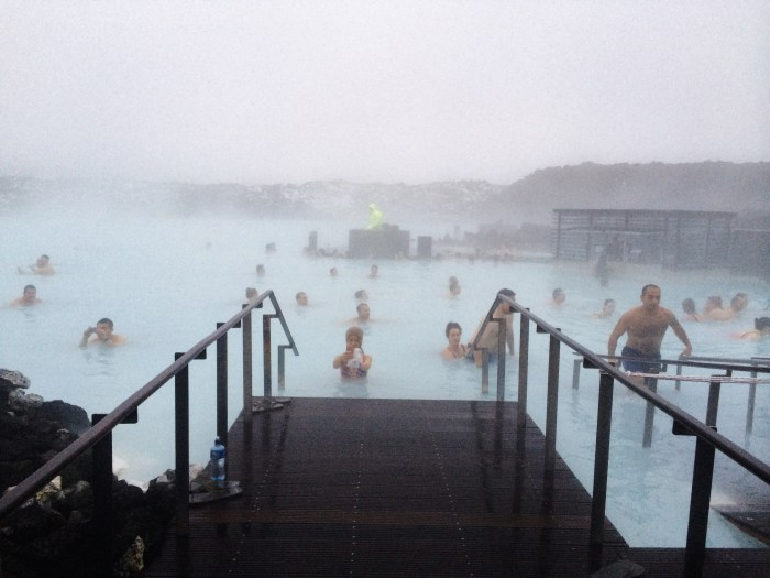 the blue lagoon entrance