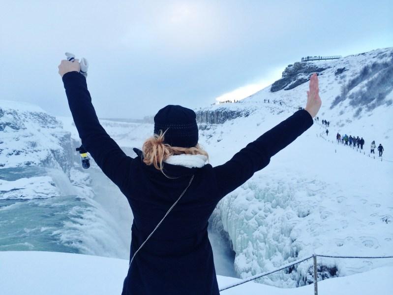 hofit kim cohen iceland waterfall vanilla sky dreaming