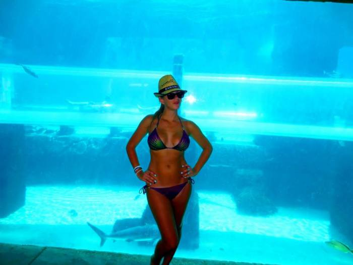bikini in bahamas hofit kim cohen